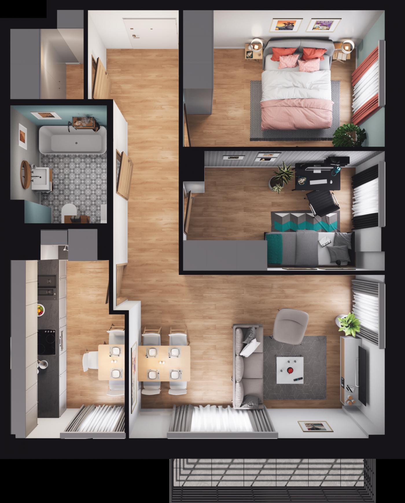 Mieszkanie 08